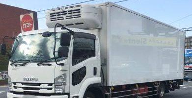 4トントラック 冷蔵車 標準ボディー