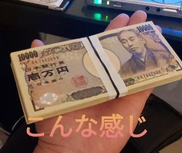 100万円で実験した写真
