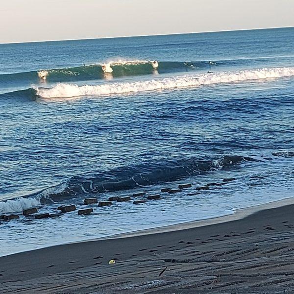 サーフィン 宮崎のポイントのある日